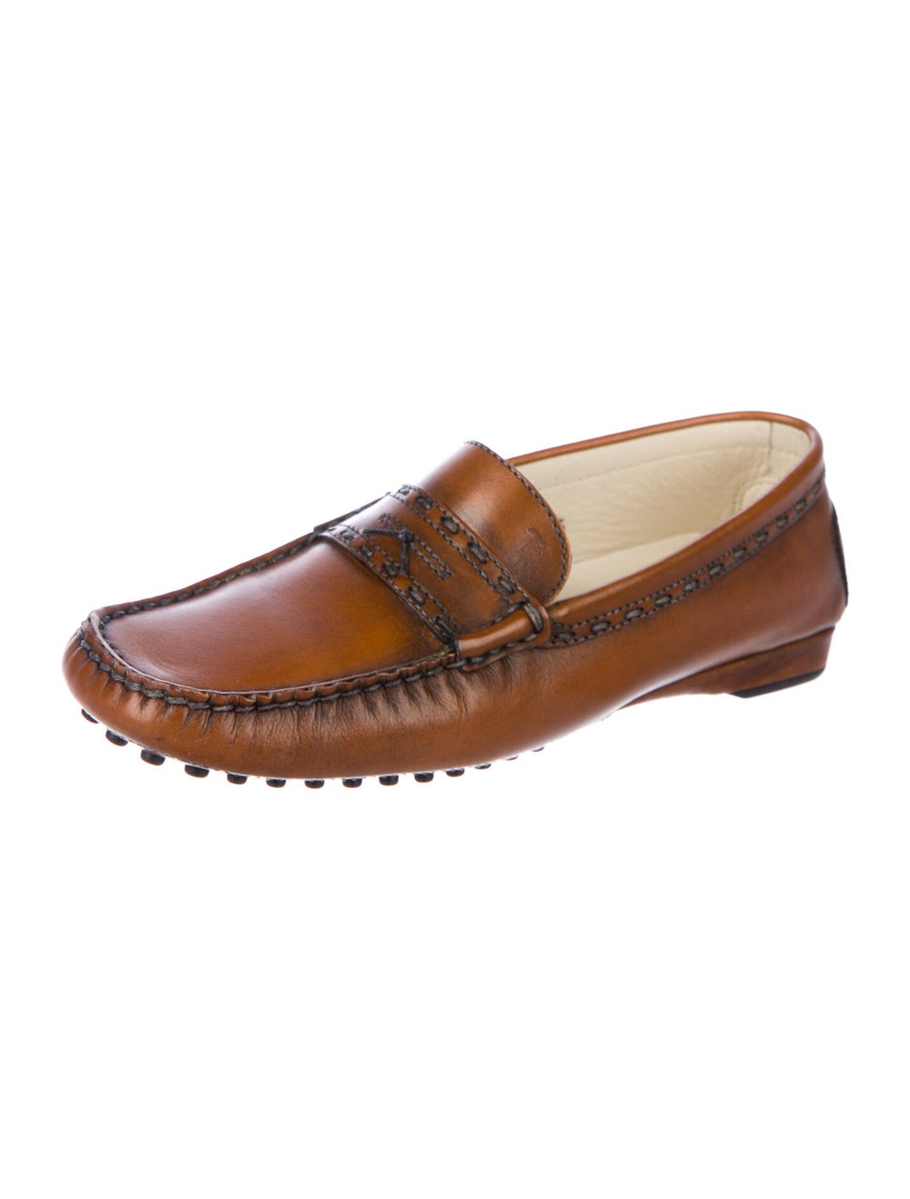 Tod's Leather Loafers Brown - image 2