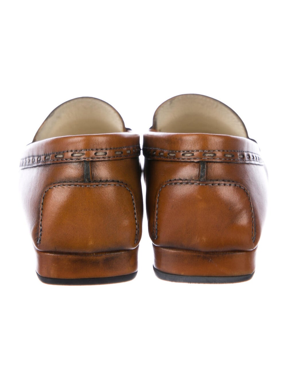Tod's Leather Loafers Brown - image 4