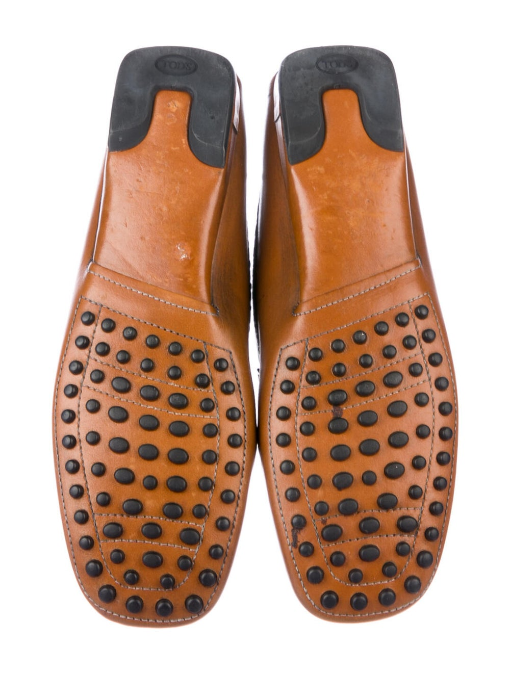 Tod's Leather Loafers Brown - image 5