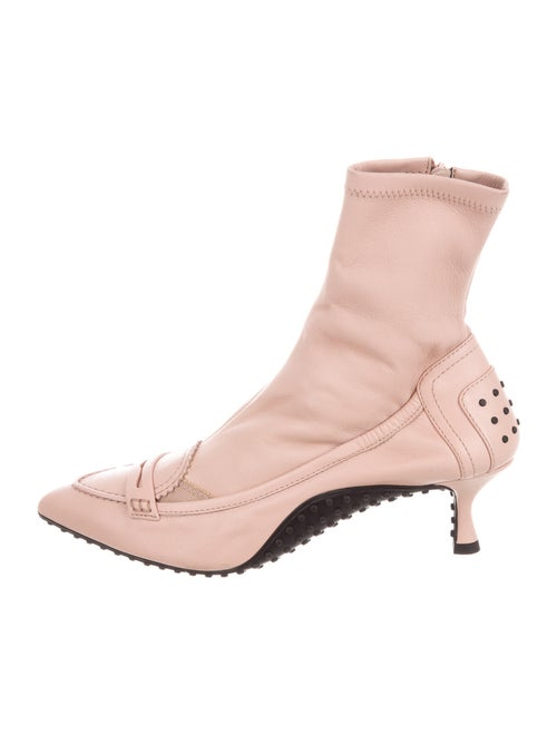 Tod's Leather Boots Pink