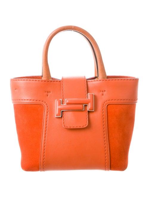 Tod's Suede Mini Bag Orange