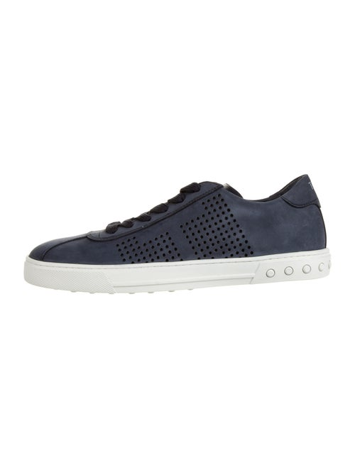 Tod's Nubuck Sneakers Blue