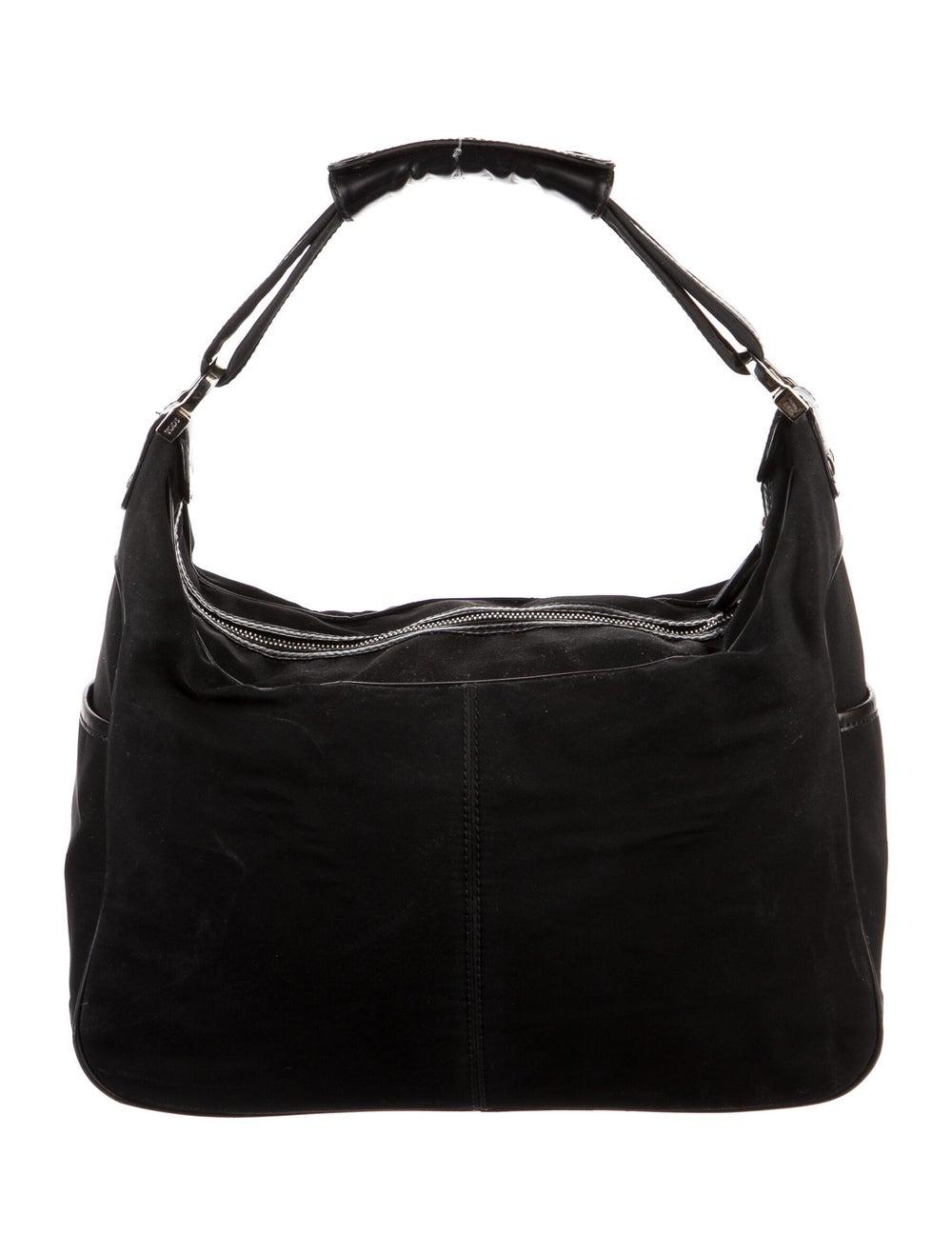 Tod's Nylon Shoulder Bag Black - image 4