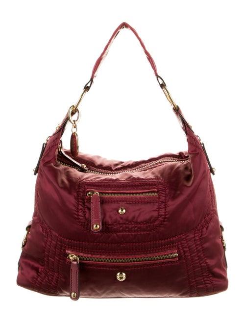 Tod's Nylon Shoulder Bag Red - image 1