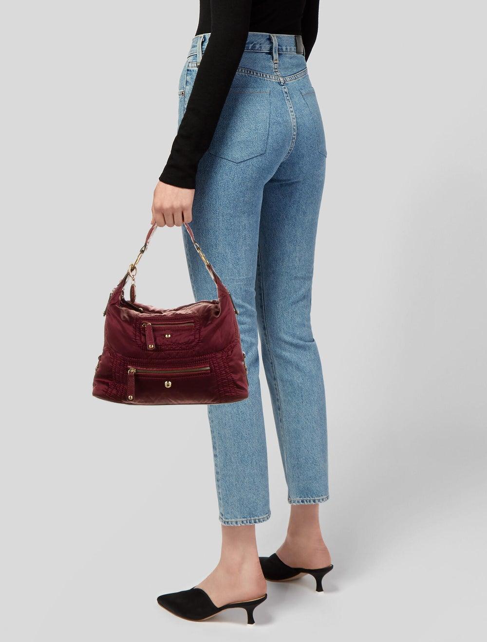 Tod's Nylon Shoulder Bag Red - image 2