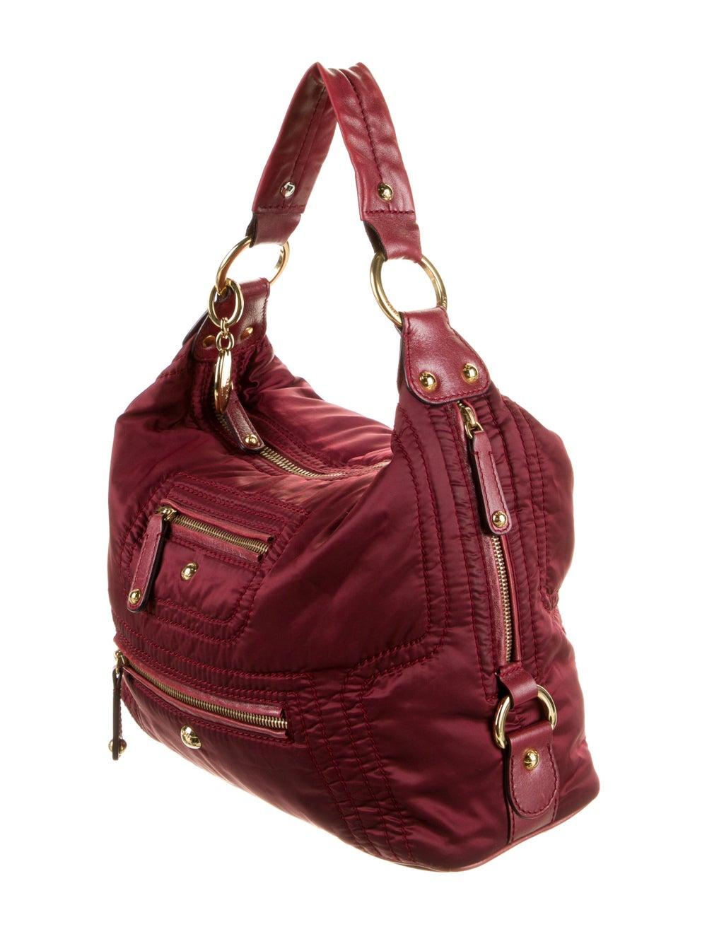 Tod's Nylon Shoulder Bag Red - image 3