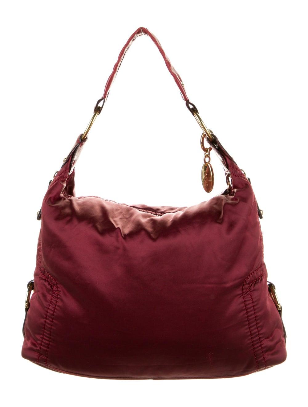 Tod's Nylon Shoulder Bag Red - image 4
