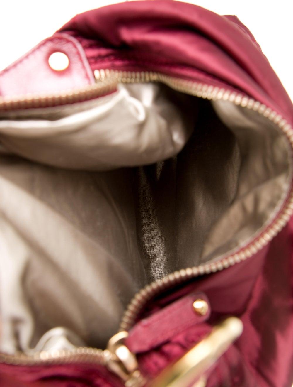 Tod's Nylon Shoulder Bag Red - image 5