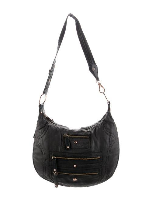 Tod's Nylon Shoulder Bag Black