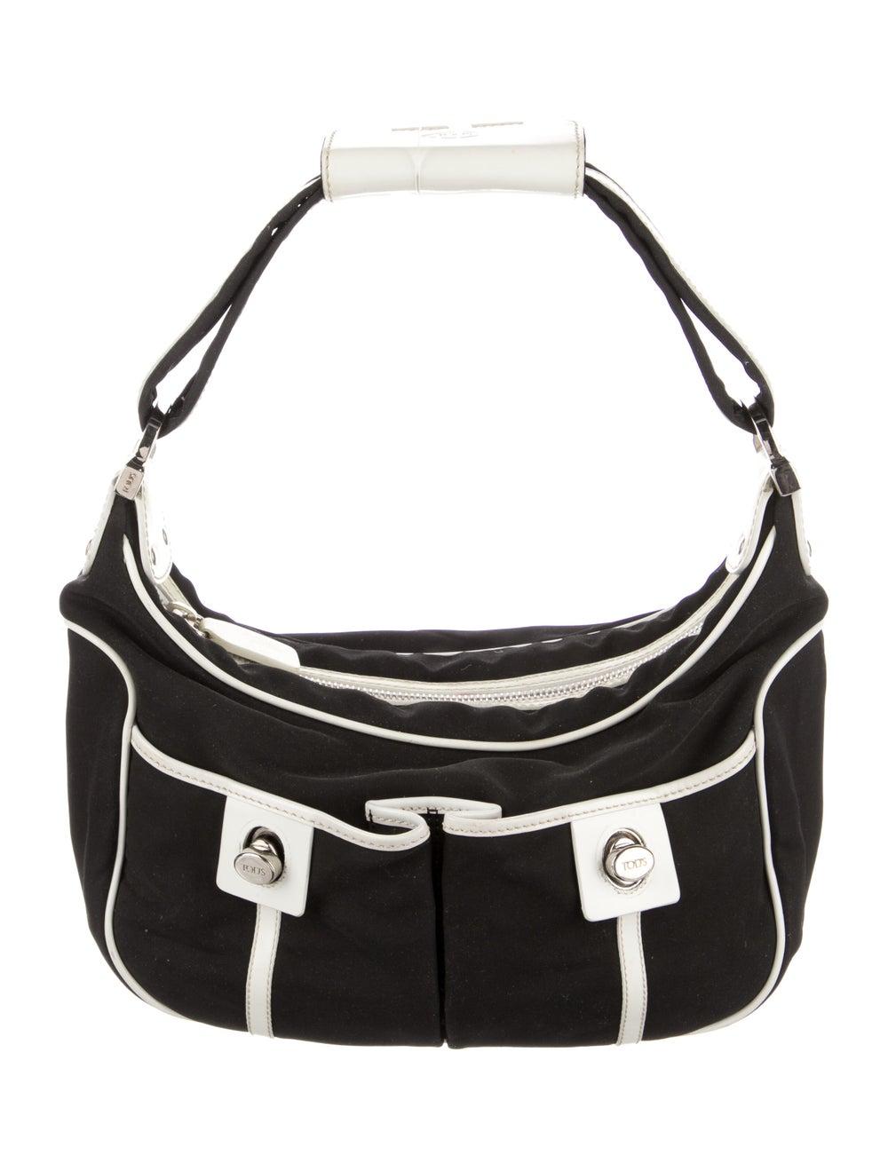 Tod's Nylon Shoulder Bag Black - image 1