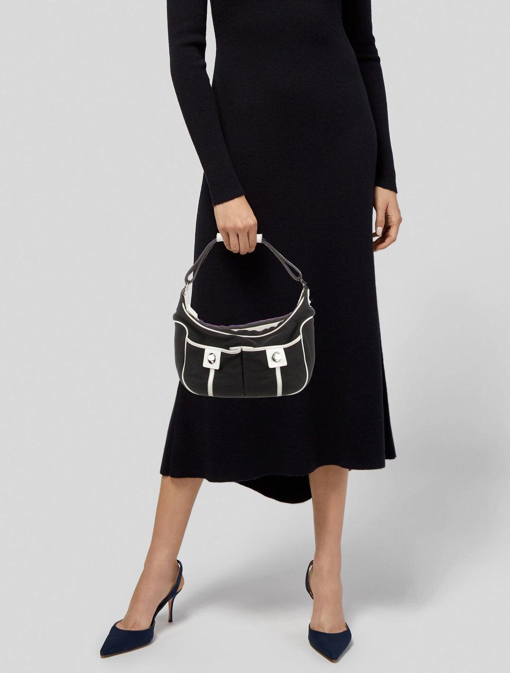 Tod's Nylon Shoulder Bag Black - image 2