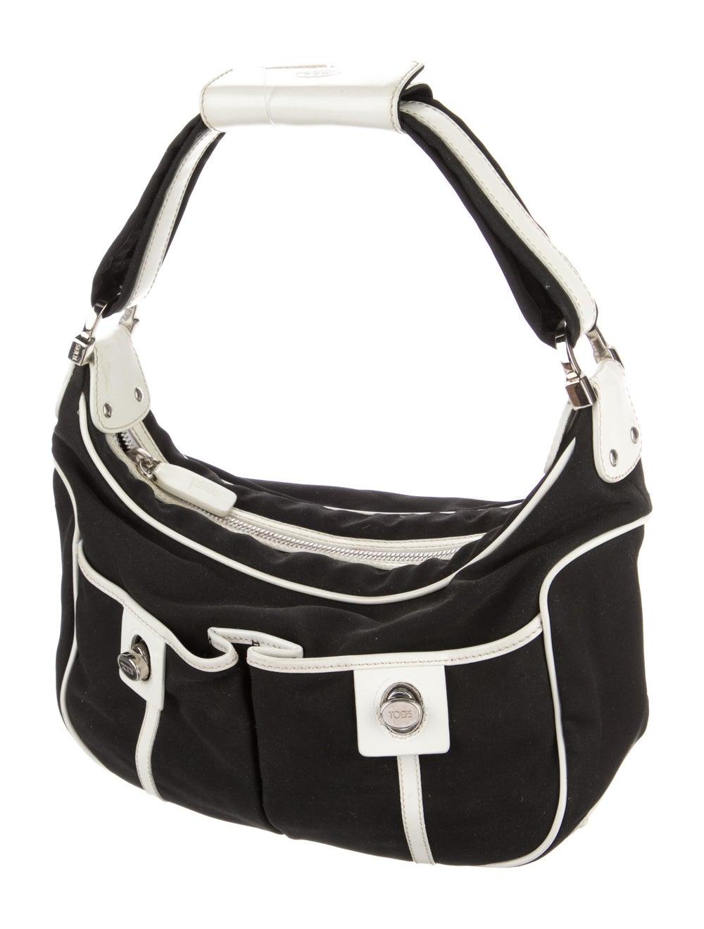Tod's Nylon Shoulder Bag Black - image 3