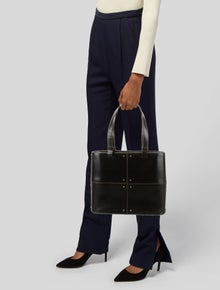 Tod's Leather Studded Tote