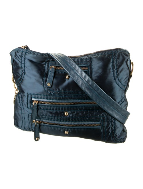 Tod's Nylon Shoulder Bag Blue