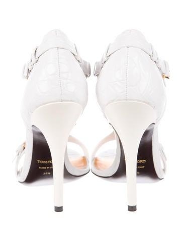 Alligator Sandals