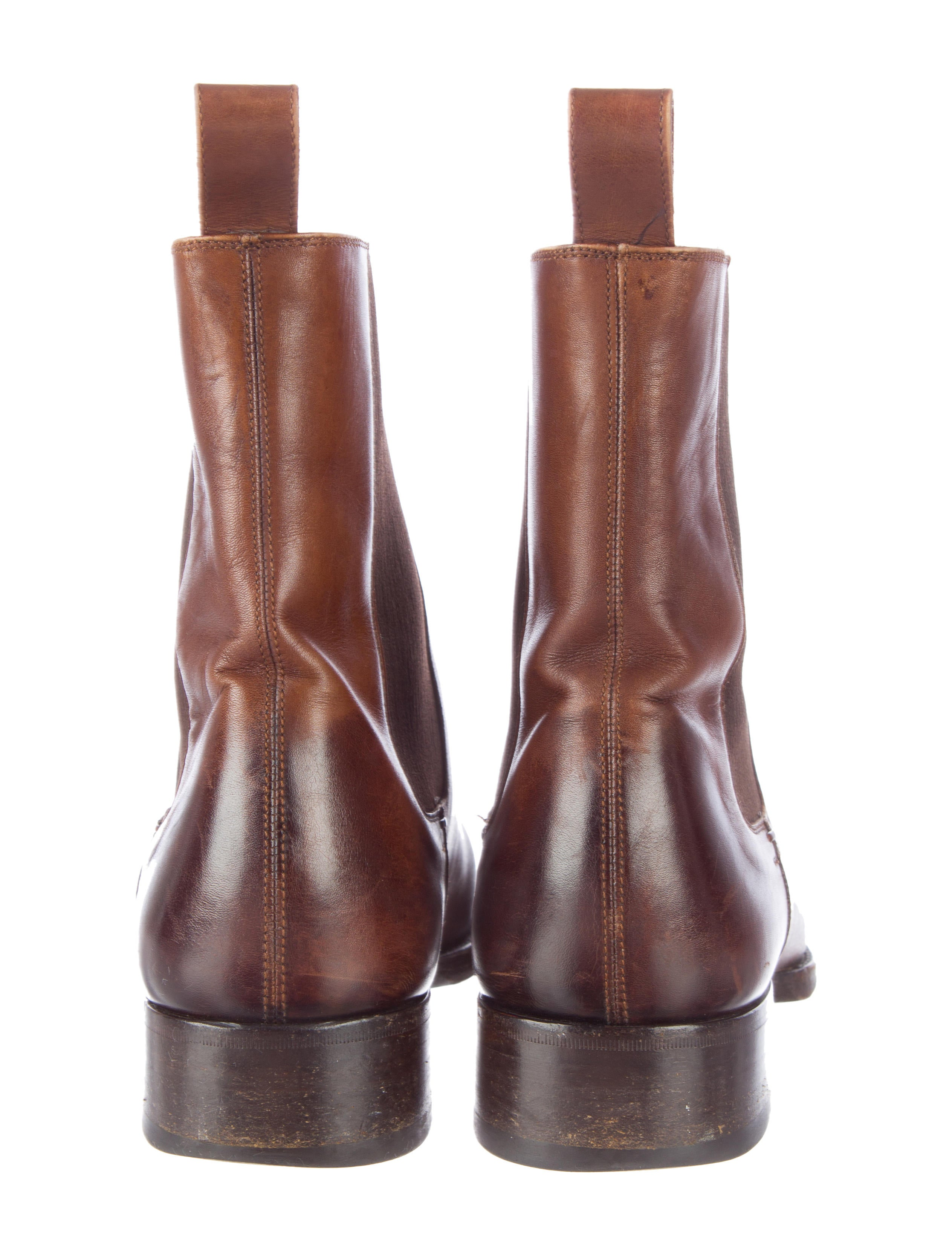 Tom Ford Gianni Chelsea Boots - Shoes - TOM24255   The ...