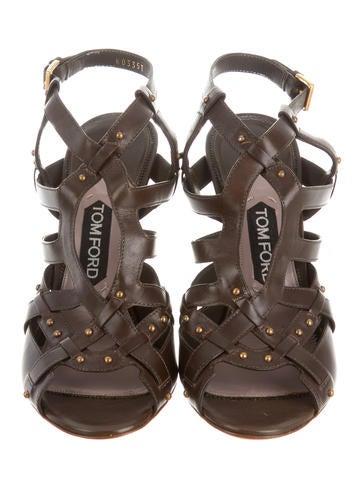 Studded Multistrap Sandals