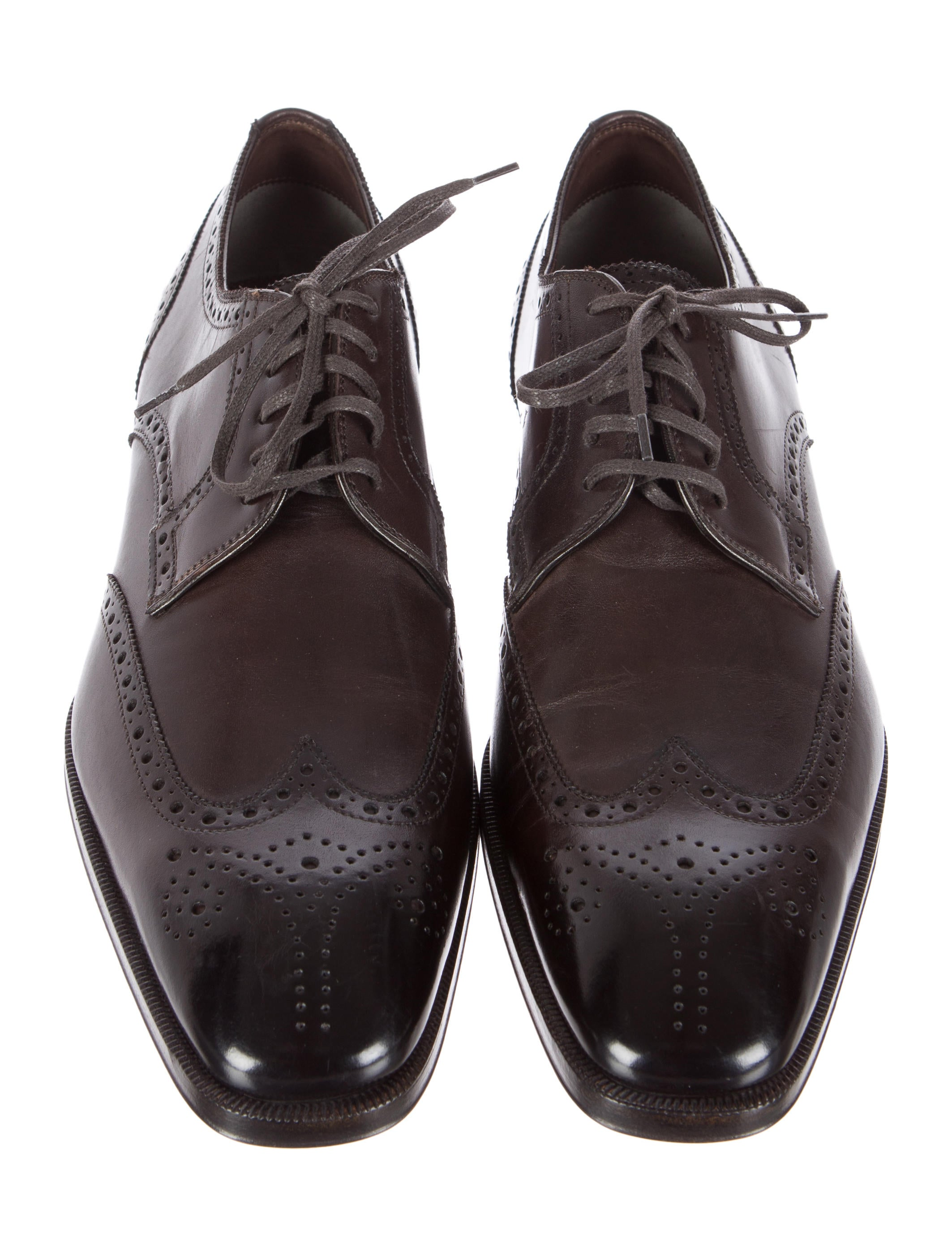 tom ford leather wingtip derby shoes shoes tom25450