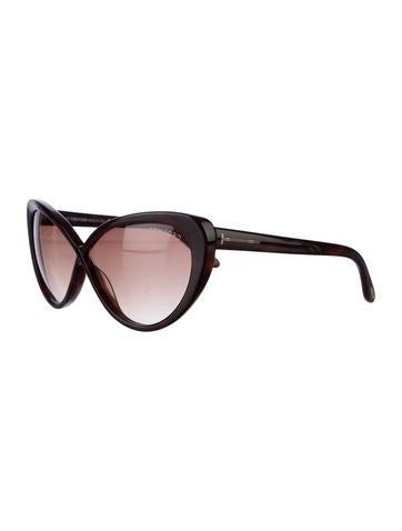 Acetate Cat-Eye Sunglasses