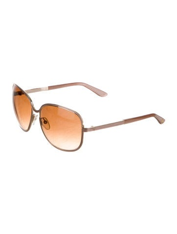Rose Gold-Tone Delphine Sunglasses