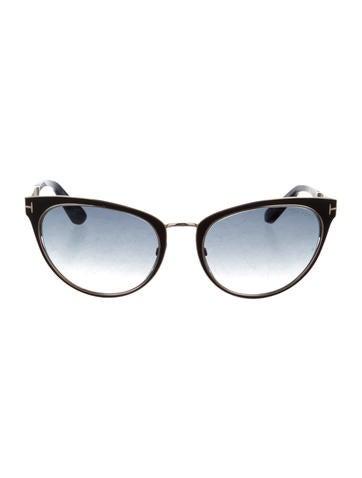 Metallic Nina Sunglasses