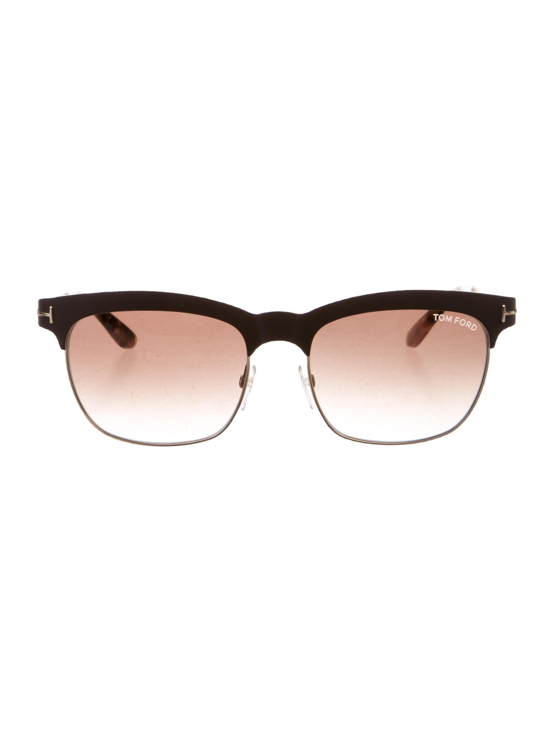 3a36972cdf643 Tom Ford Elena Gradient Lens Sunglasses - Accessories - TOM28580 ...