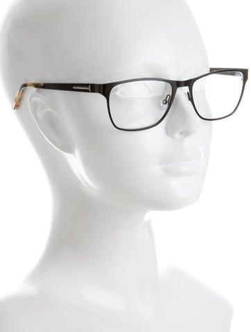 Acetate Square Eyeglasses