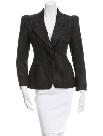 Tom Ford Silk & Wool-Blend Notch-Lapel Blazer