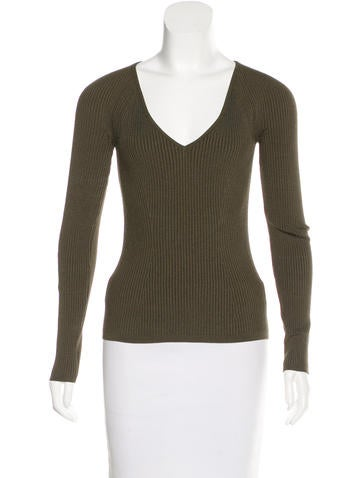 Tom Ford Silk Knit Top None