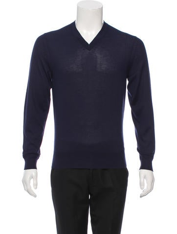 Tom Ford Cashmere & Silk-Blend Sweater None