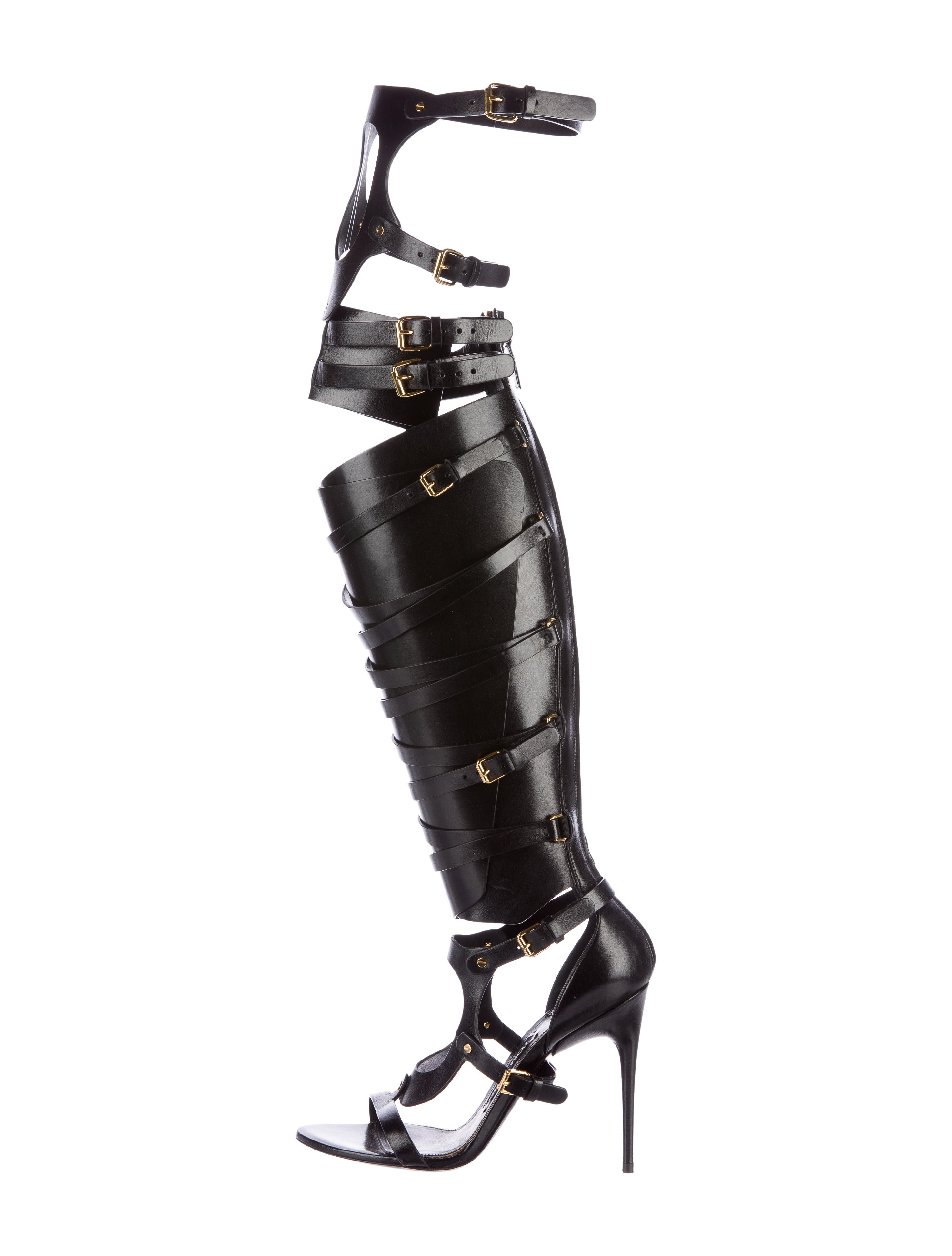 6eea14cce7f Tom Ford Knee-High Gladiator Sandals - Shoes - TOM31606