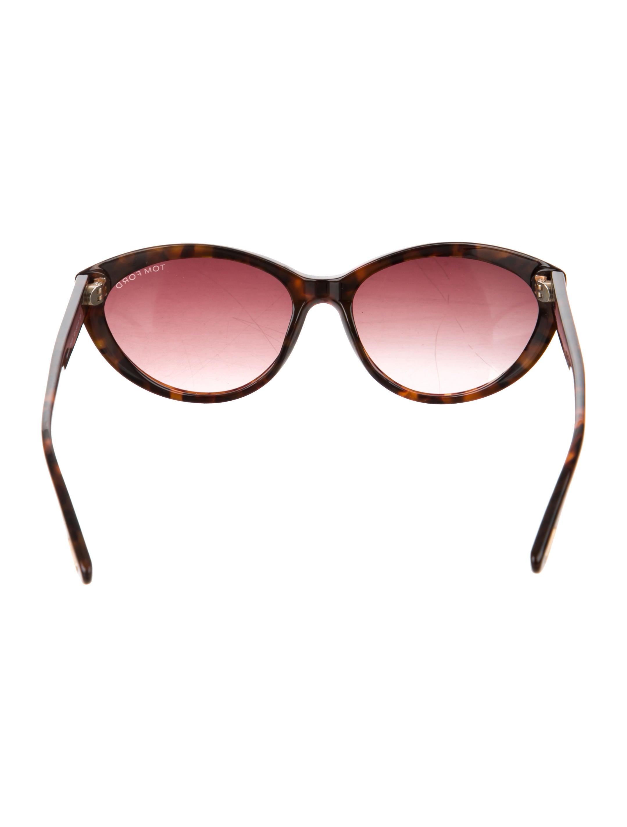 Tom Ford Tortoiseshell Cat Eye Sunglasses