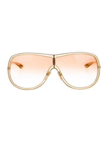 Tom Ford Andrea Shield Sunglasses