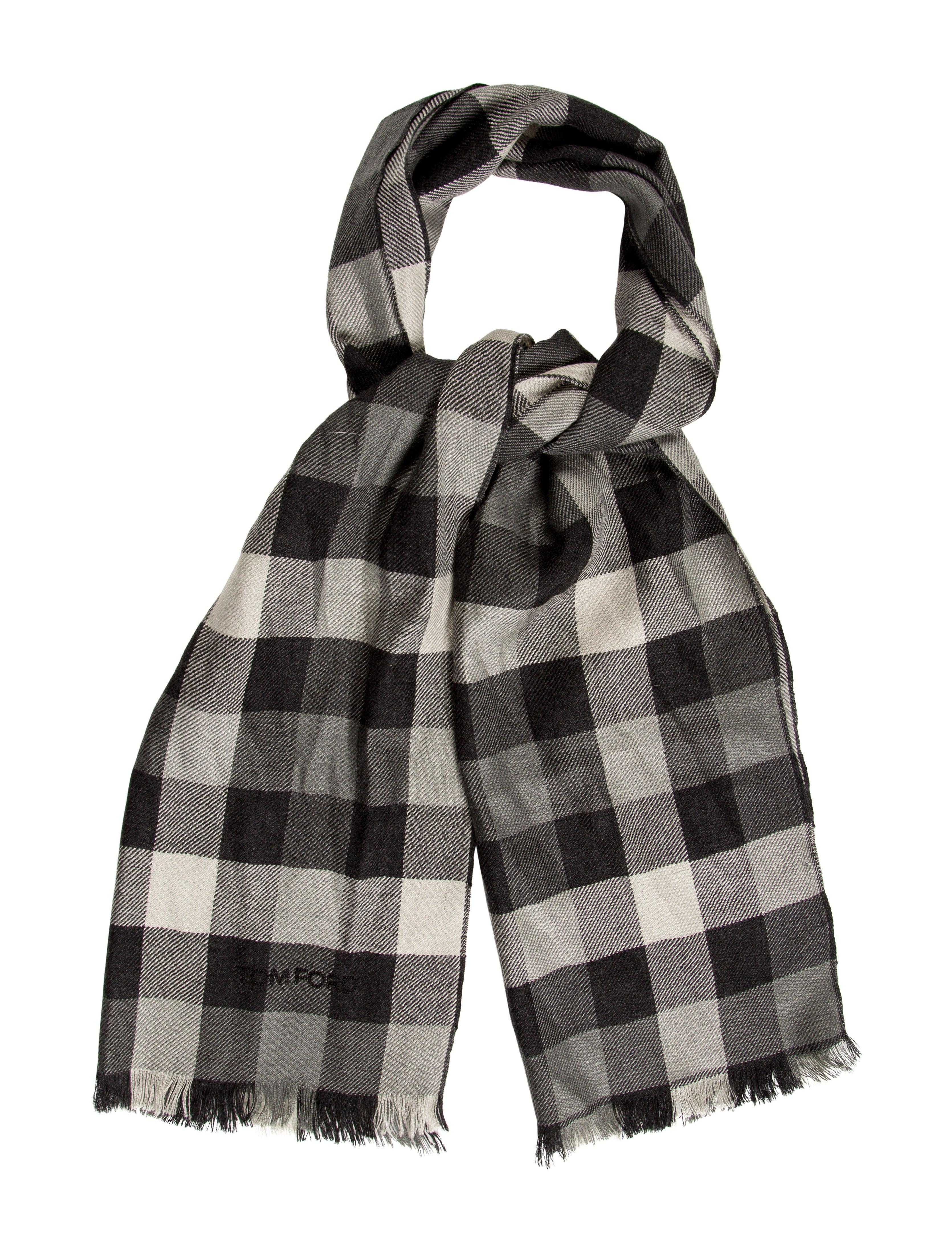 tom ford silk blend scarf accessories