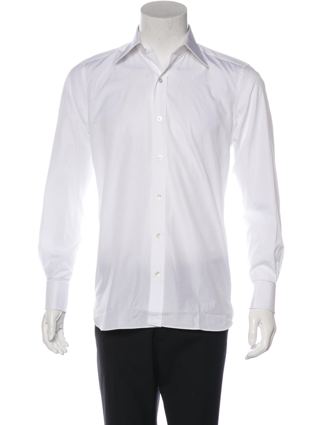 Tom Ford French Cuff Dress Shirt Clothing Tom33013