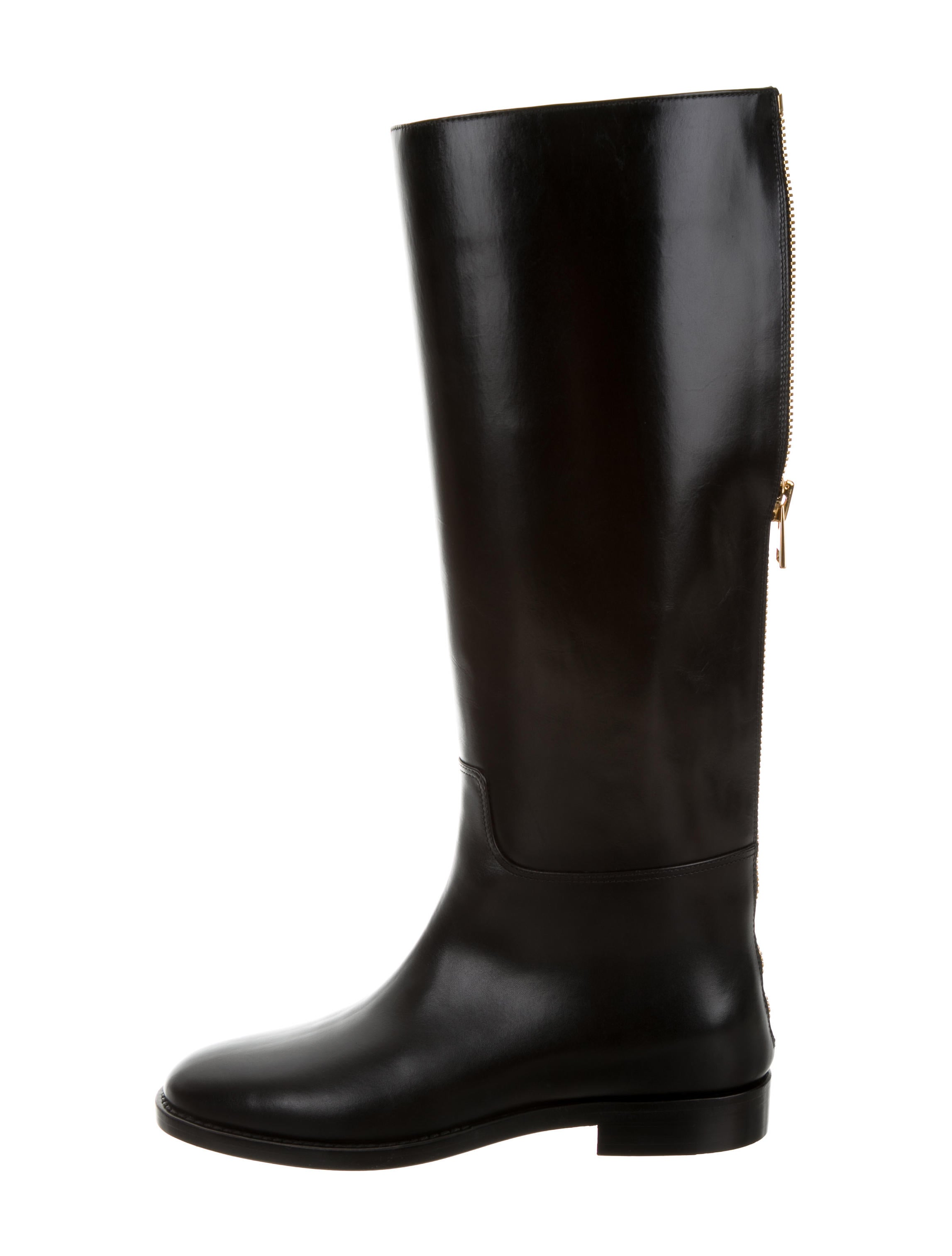 tom ford leather knee high boots w tags shoes