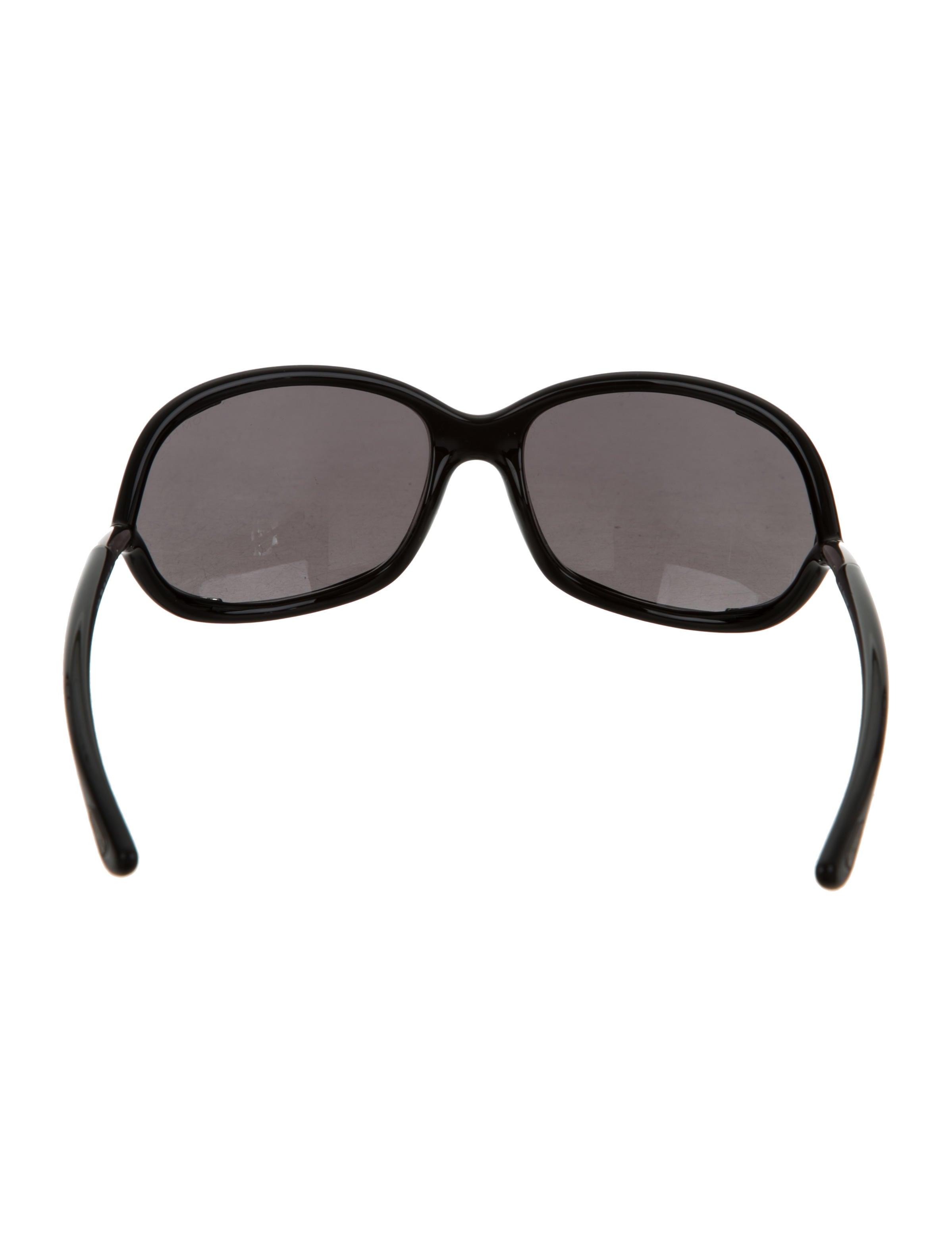 d4a32e0f94 Lyst - Tom Ford Jennifer Opentemple Sunglasses Blackgunmetal in Black Tom  Ford Jennifer Oversize Sunglasses - Accessories - TOM33391