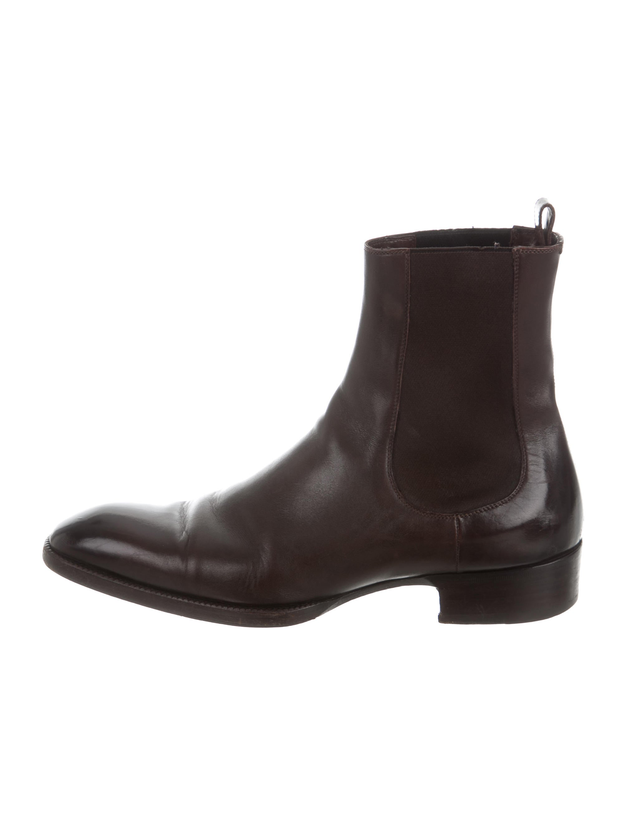 tom ford leather chelsea boots shoes tom33844 the