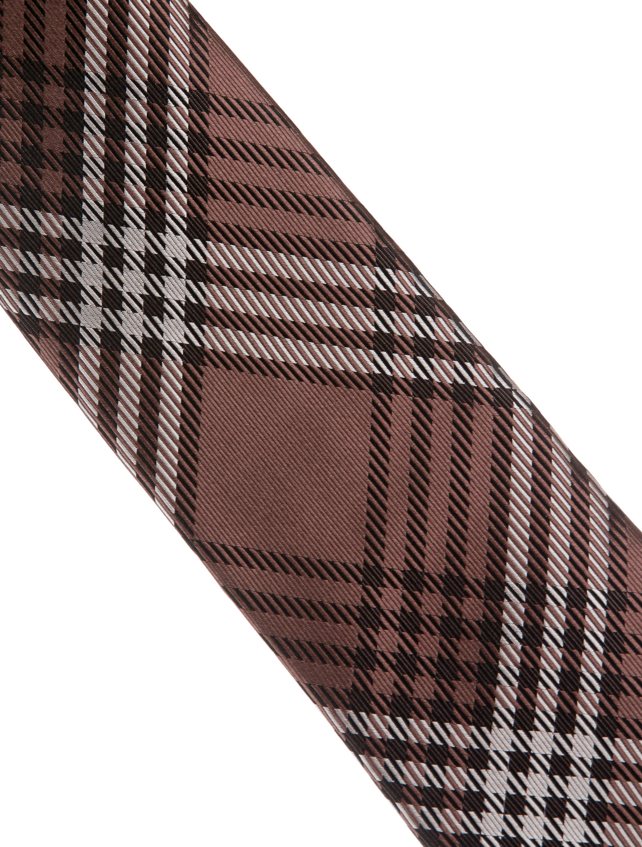 tom ford silk glen plaid tie suiting accessories