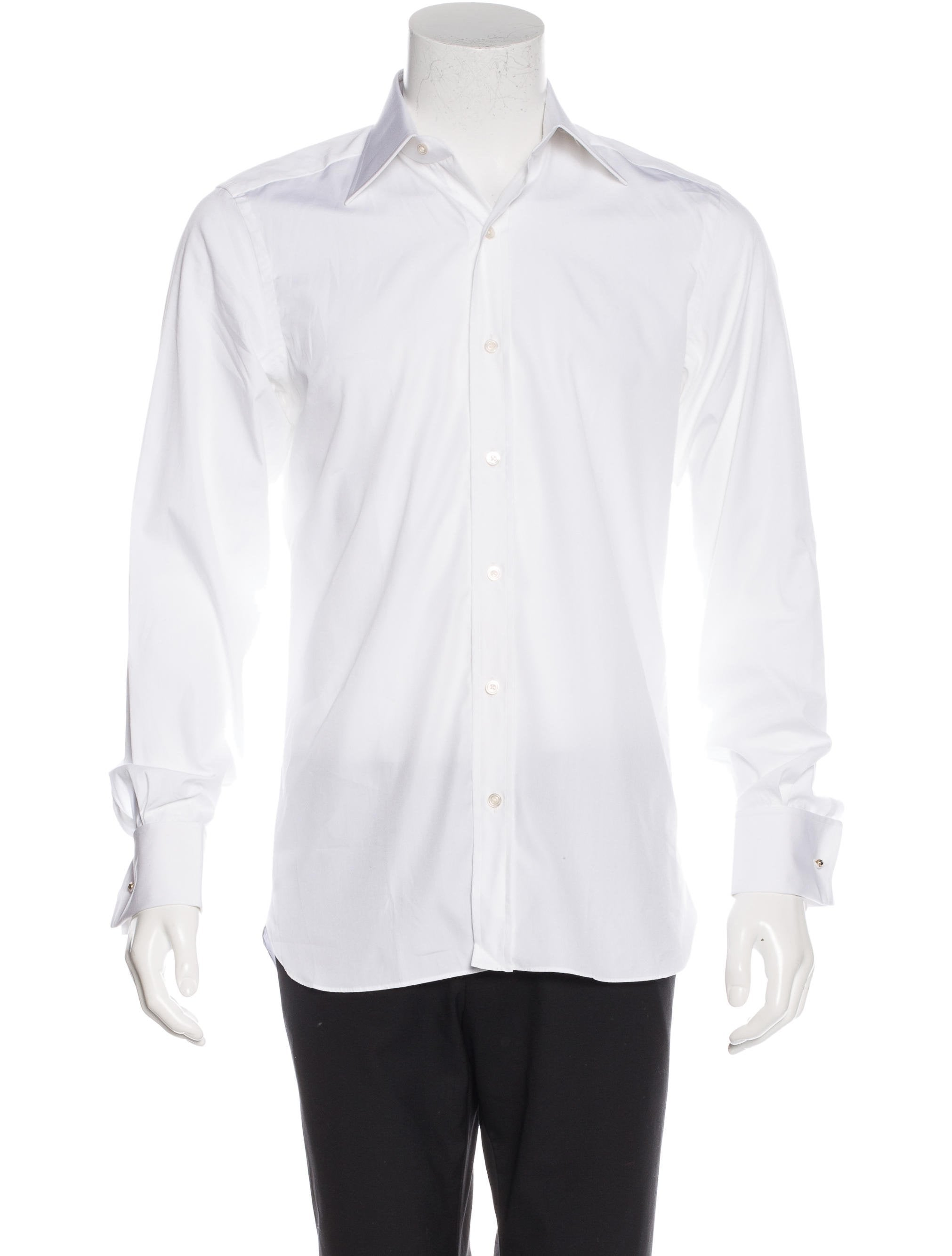 Tom Ford French Cuff Dress Shirt Clothing Tom33899