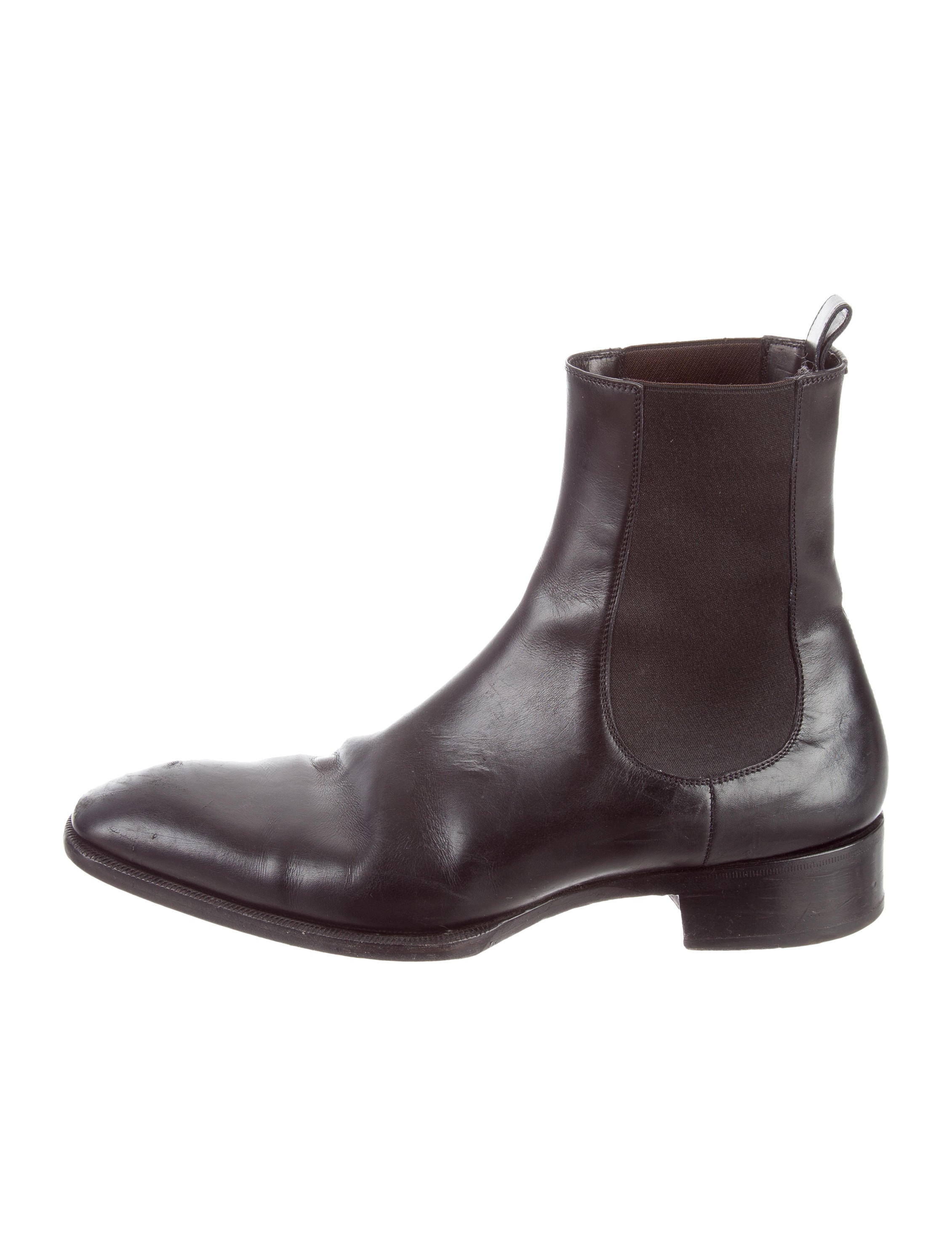 tom ford leather chelsea boots shoes tom34192 the