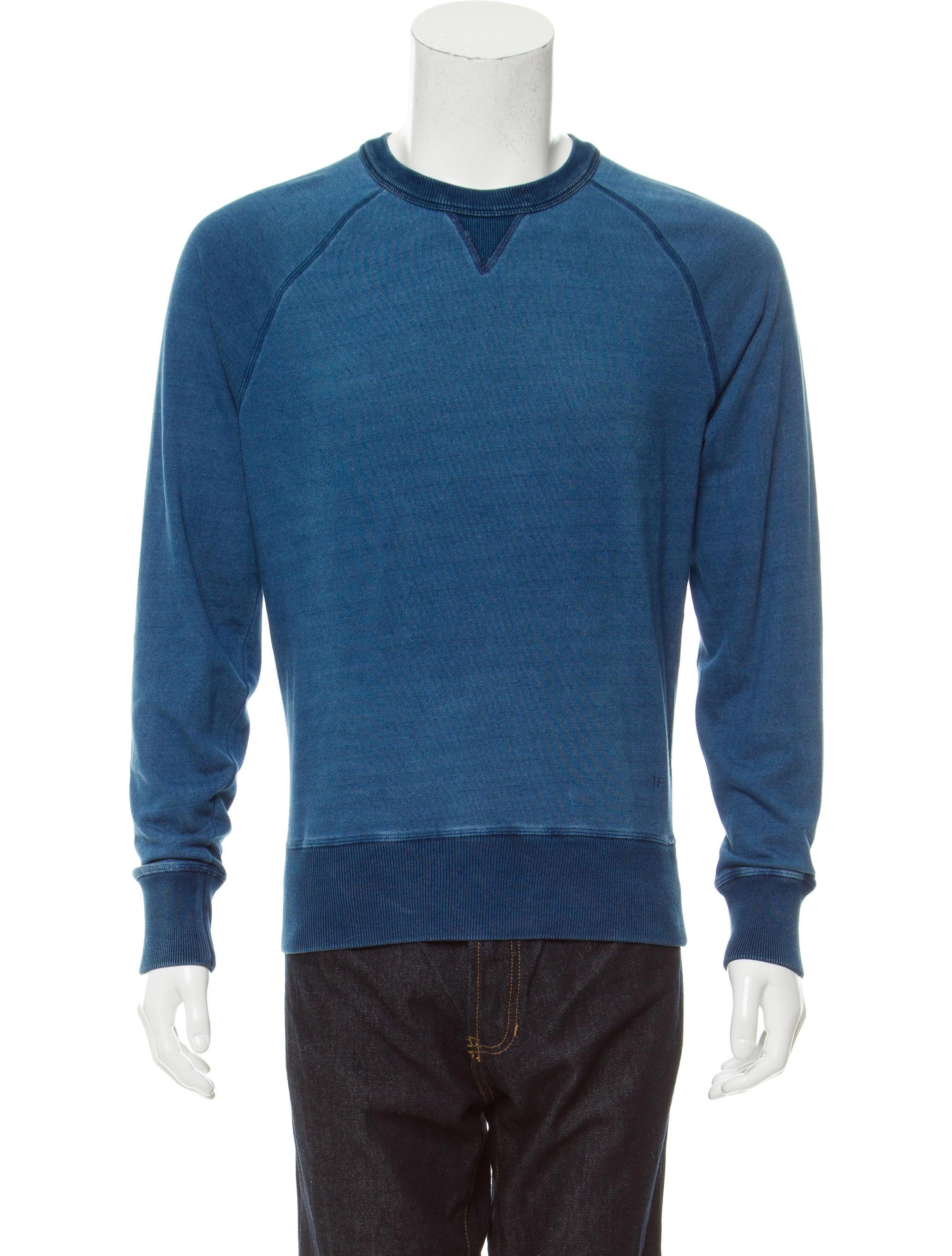 tom ford pullover crew neck sweatshirt clothing. Black Bedroom Furniture Sets. Home Design Ideas