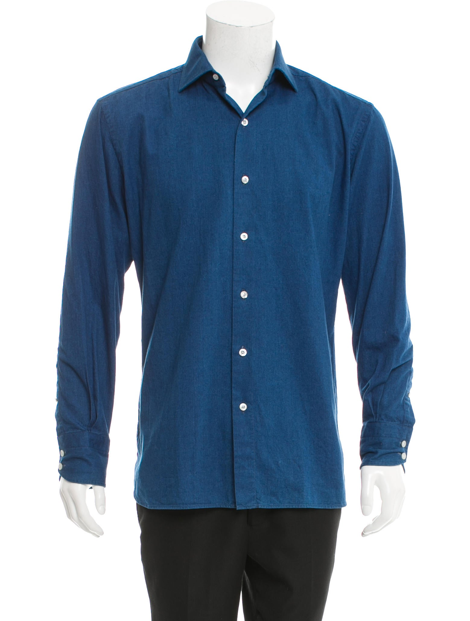 Tom ford woven button up shirt w tags clothing Woven t shirt tags