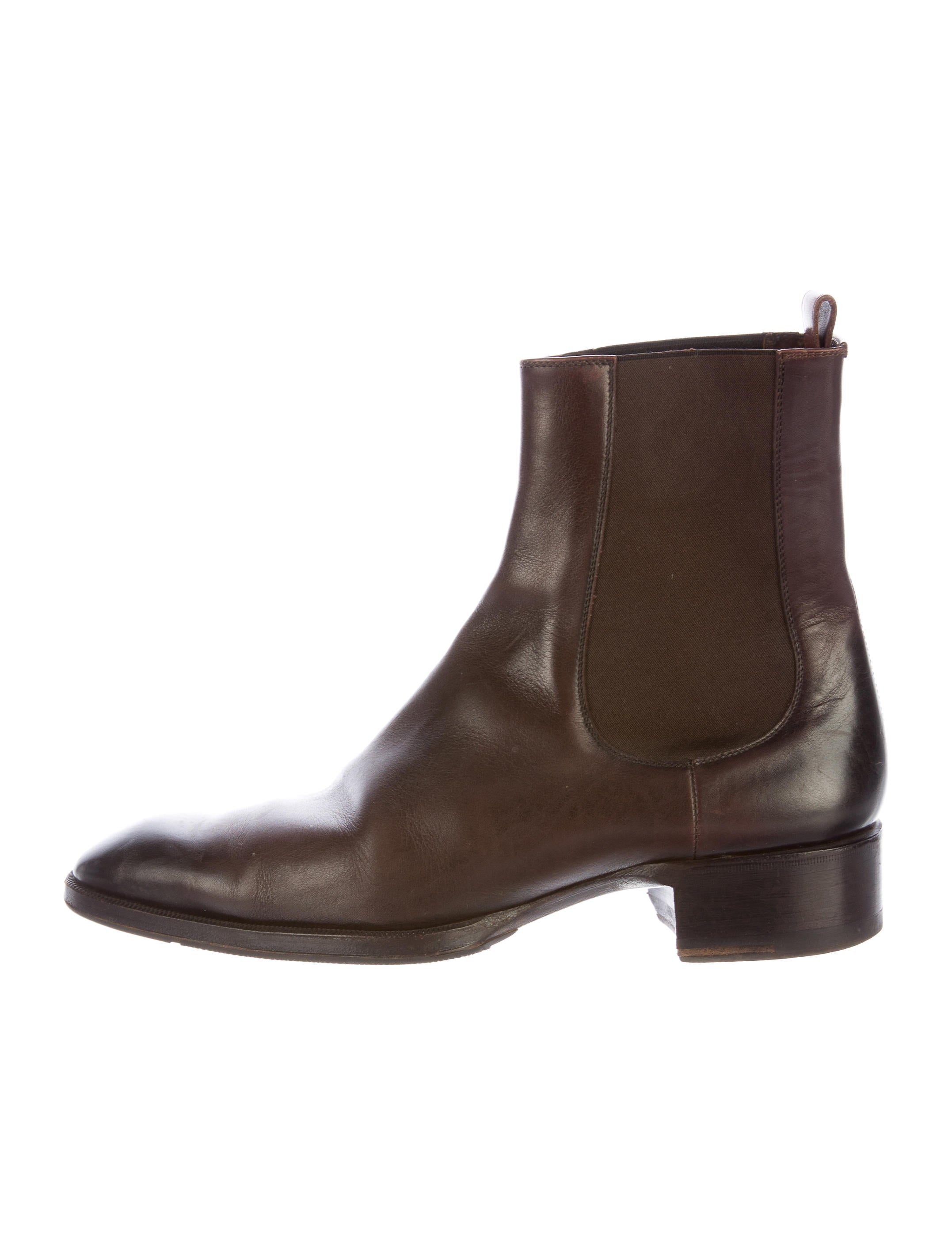tom ford leather chelsea boots shoes tom34288 the