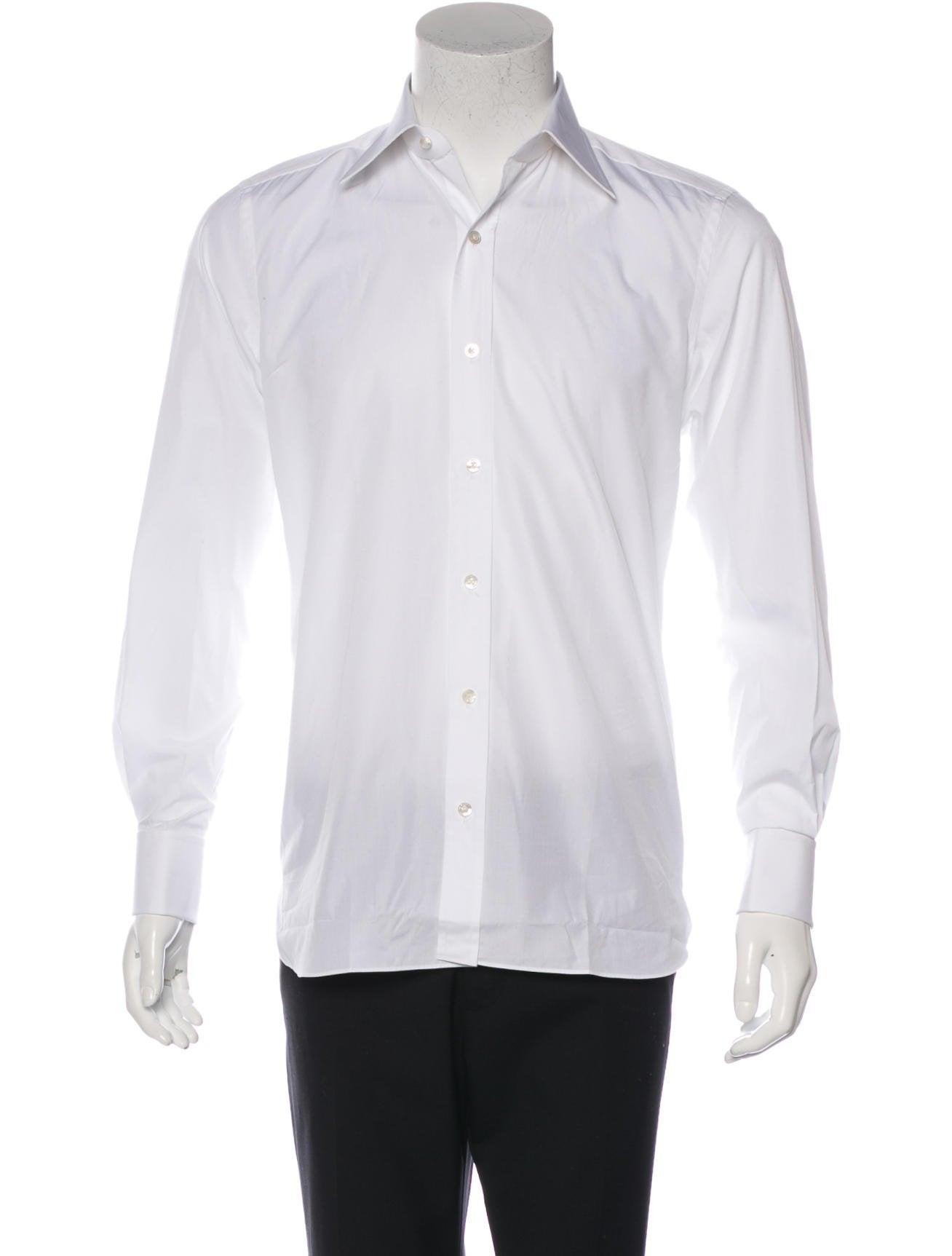 Tom ford french cuff dress shirt clothing tom34541 for Dress shirt french cuffs