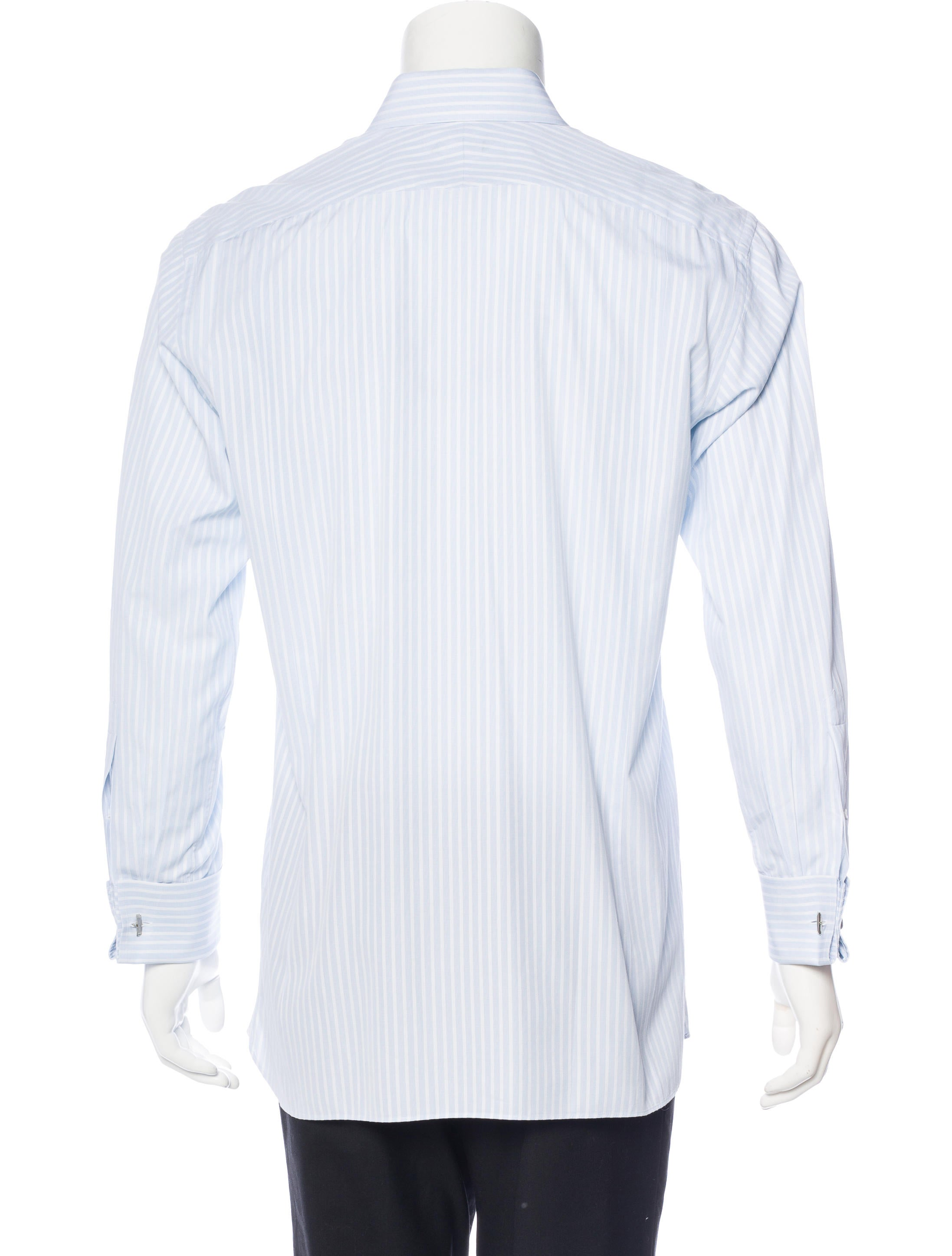 tom ford french cuff striped shirt clothing tom34617. Black Bedroom Furniture Sets. Home Design Ideas