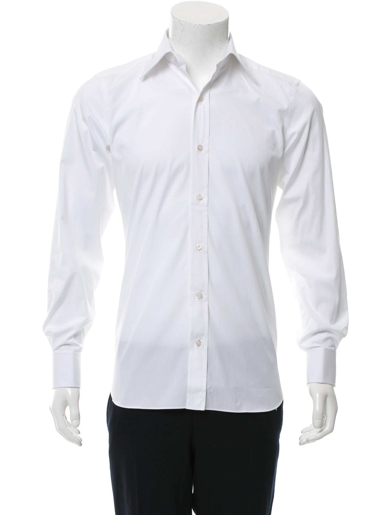 Tom ford french cuff button up shirt clothing tom34854 for French cuff dress shirts for sale