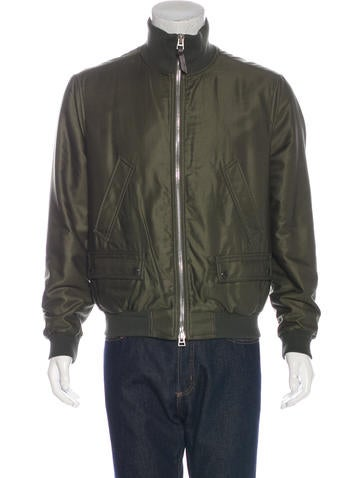 Tom Ford Woven Bomber Jacket None