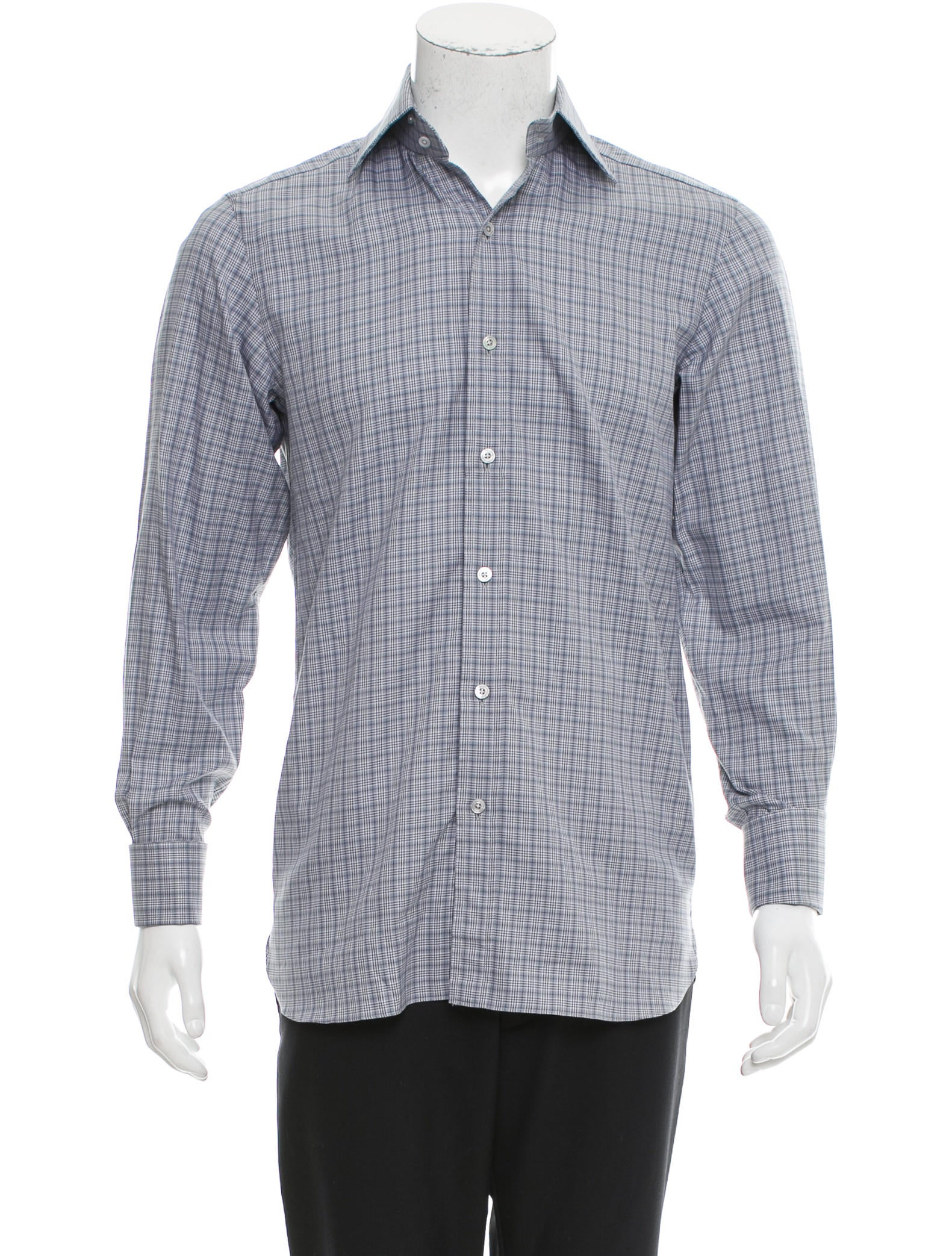 Tom Ford French Cuff Button Up Shirt Clothing Tom36215