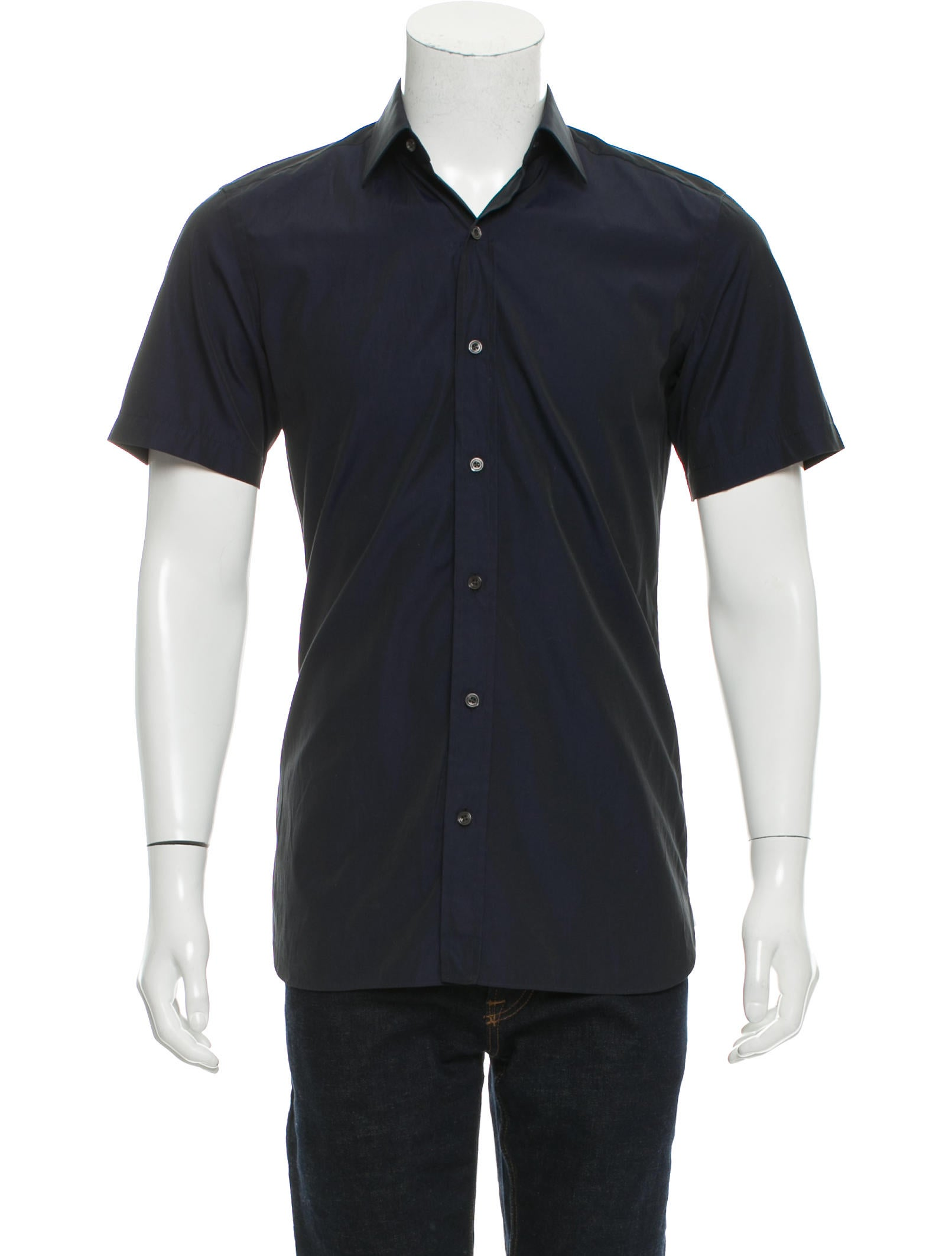 Tom ford short sleeve button up shirt clothing for Short sleeve button up shirts